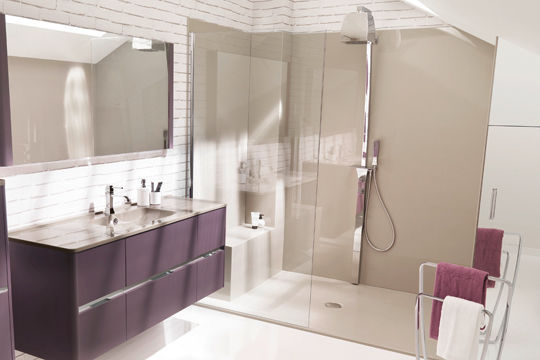 La douche l 39 italienne for Photos douche italienne