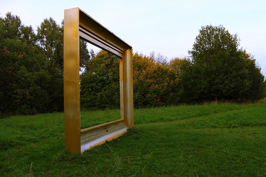 Le cadre peut devenir une oeuvre d'art à part entière