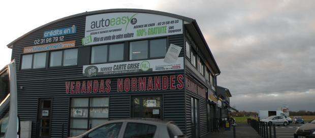 Les locaux de Carte Grise Café à Caen